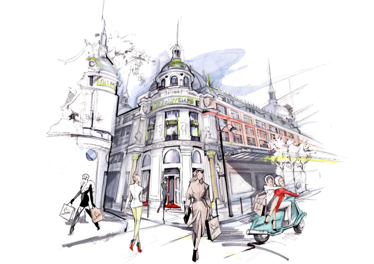 La Mode à la Française fête les 150 ans du Printemps !