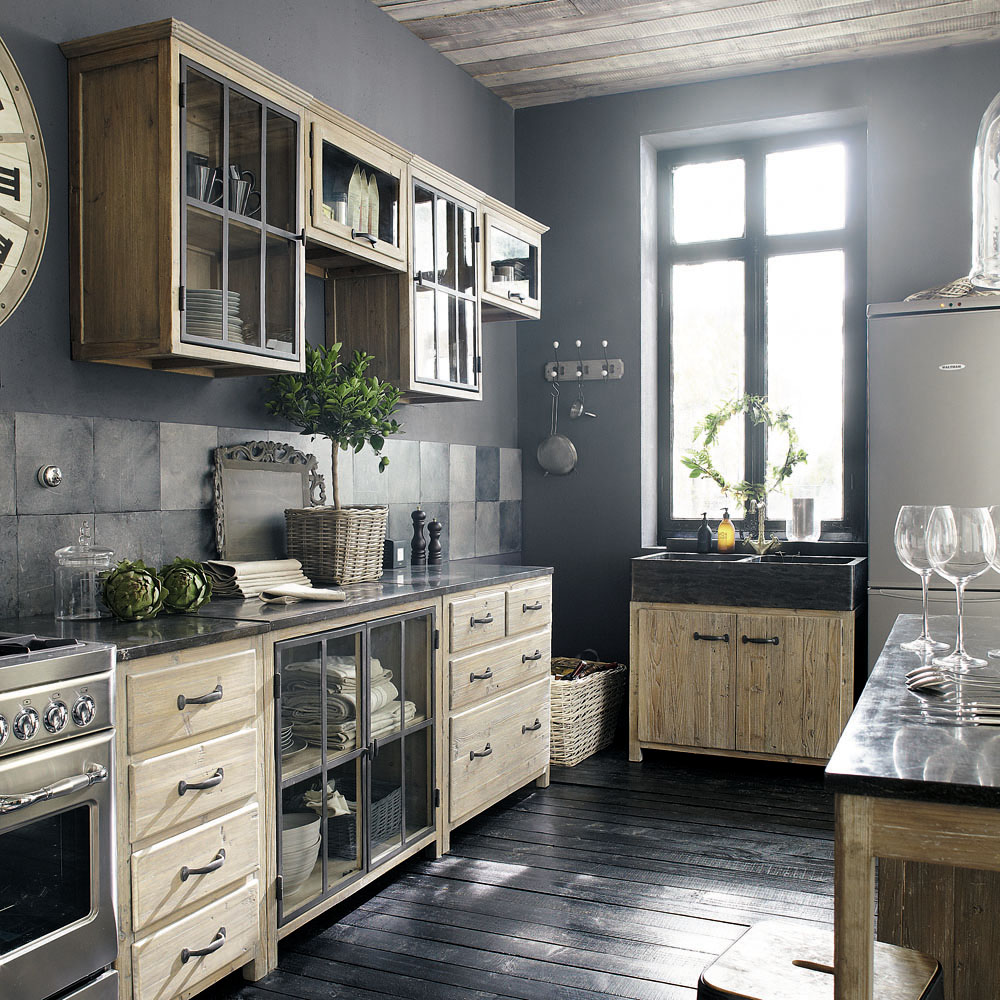 Vintage French Kitchen: La Cuisine De Campagne Contemporaine, Ou Comment Allier Pratique Et Tradition