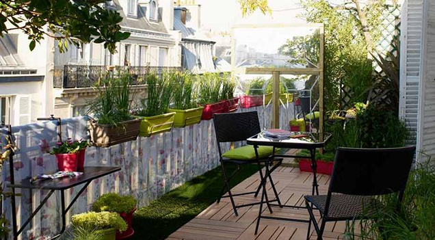 Comment amenager balcon for Amenager une terrasse dans son jardin