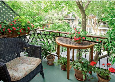 D co nature ou comment am nager son balcon pour l t for Jardineras para balcones