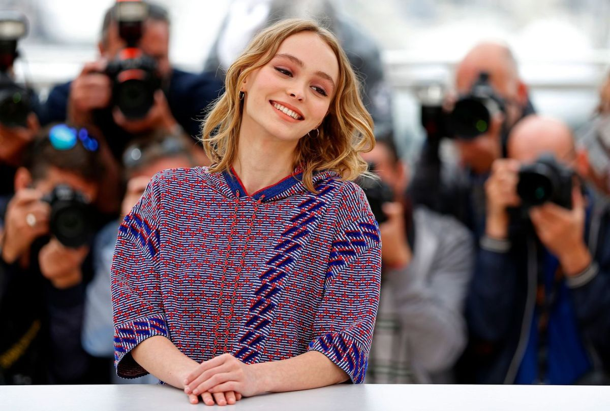 The first Cannes Festival of Lily-Rose Depp
