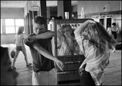 USA. Coney Island, NY. 1959. Brooklyn Gang.