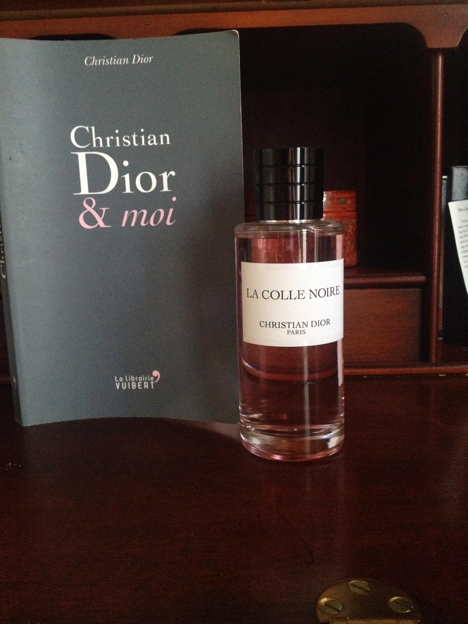 La Colle Noire Dior lecture] christian dior se confie et la « colle noire