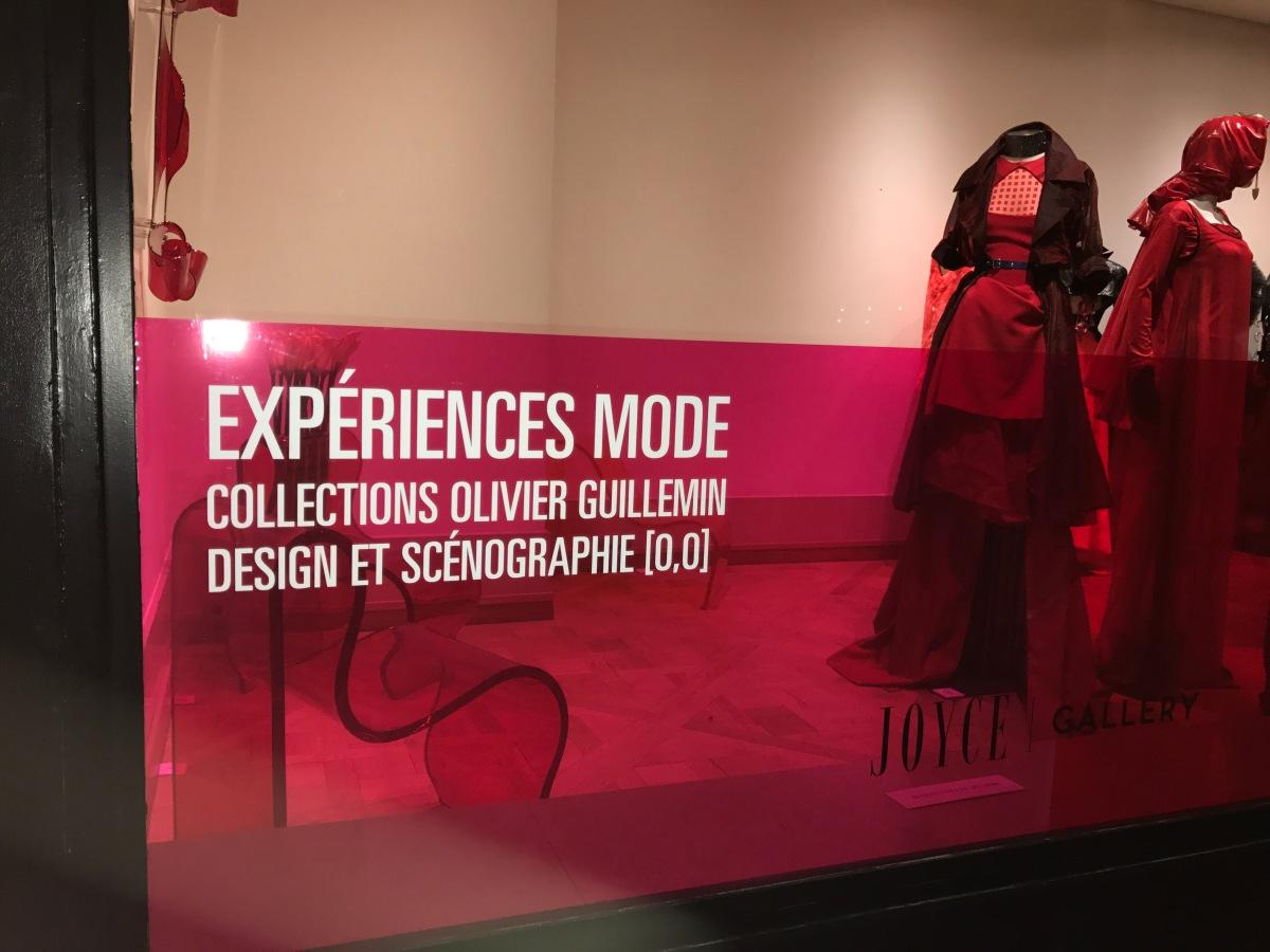 (Expo) « Expériences Mode » par Olivier Guillemin : Retour vers le futur à la Joyce Gallery
