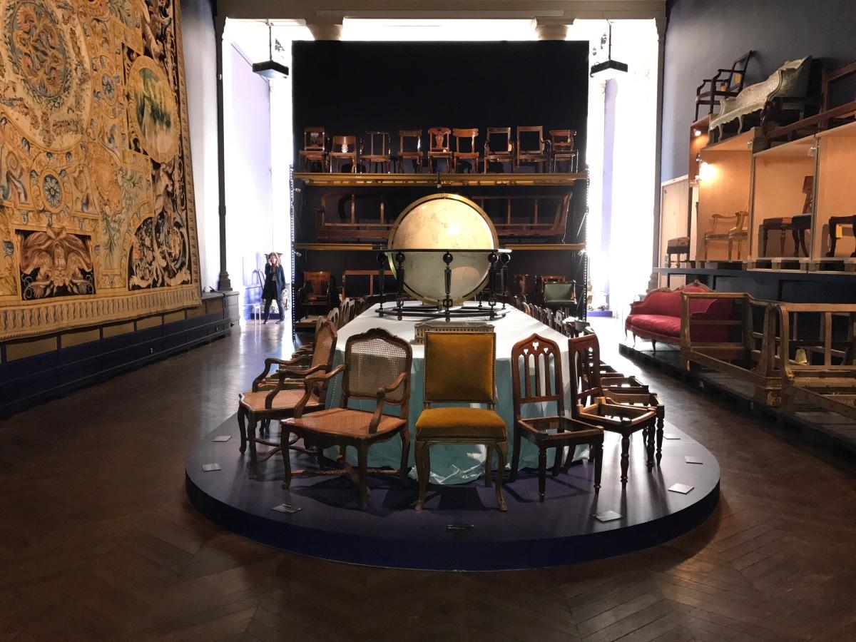 (Expo) Le Mobilier national et Jacques Garcia présentent « Sièges en société » à la Galerie des Gobelins