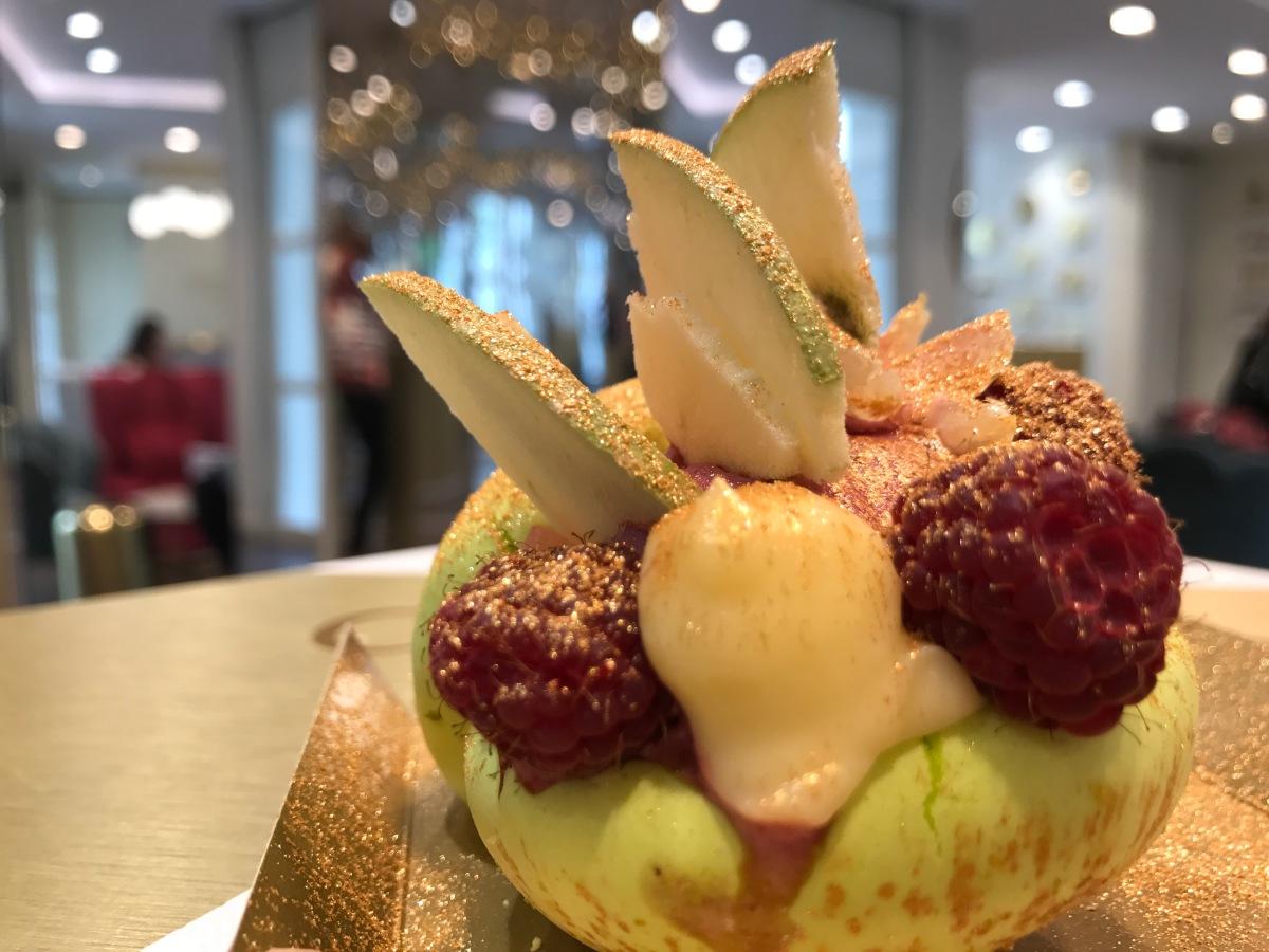 (Cook) La Maison Carte d'Or … et la glace devient une pâtisserie !