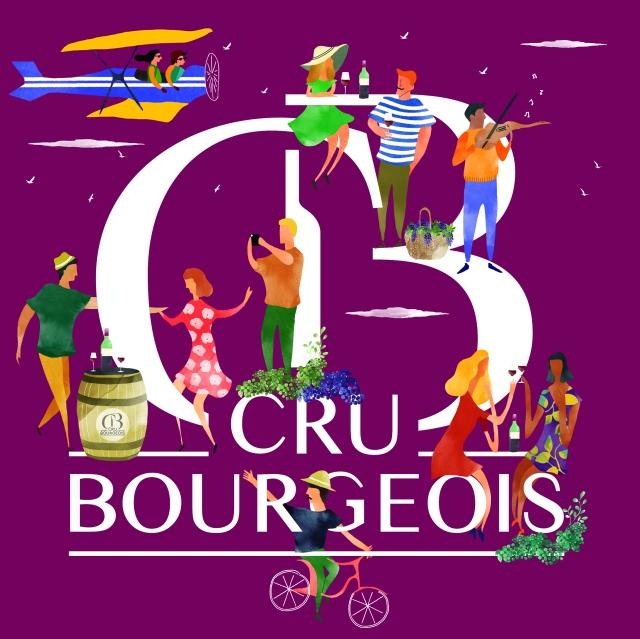 Visuel Sélection Officielle 2017 Crus Bourgeois du Médoc Print